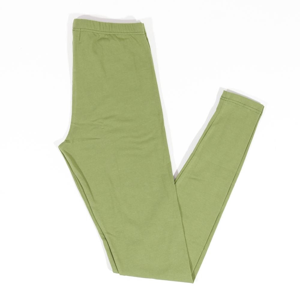 Leggins JALFE uni lang   grün