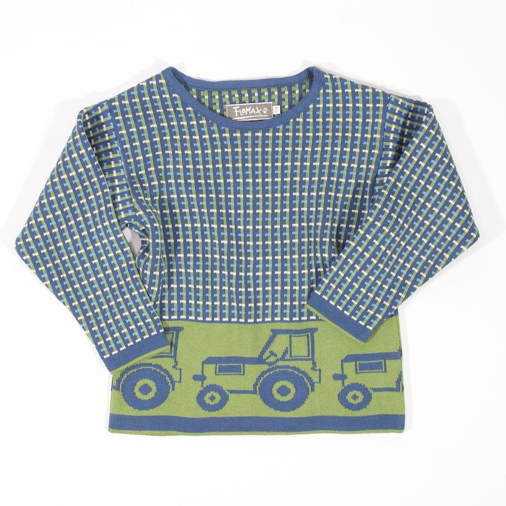 Pullover Oscar Kinder jeans|pistazie