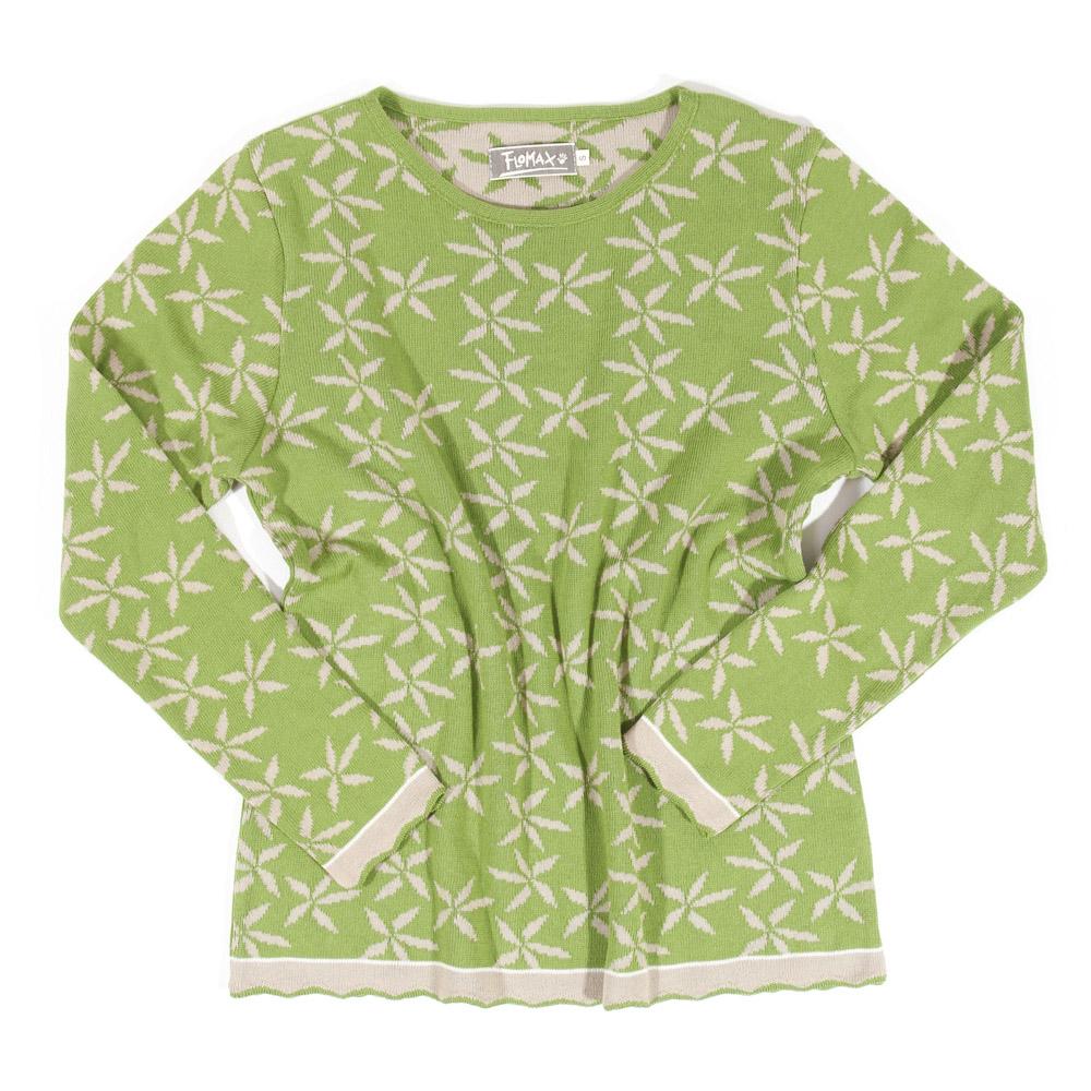 Pullover Lela pistazie|flax