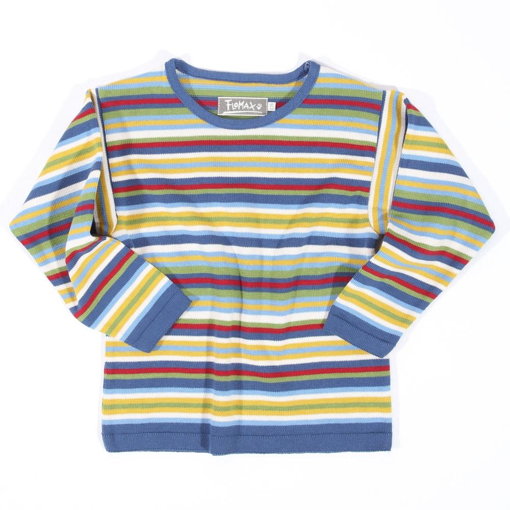 Pullover Maxi Kinder jeans|bunt