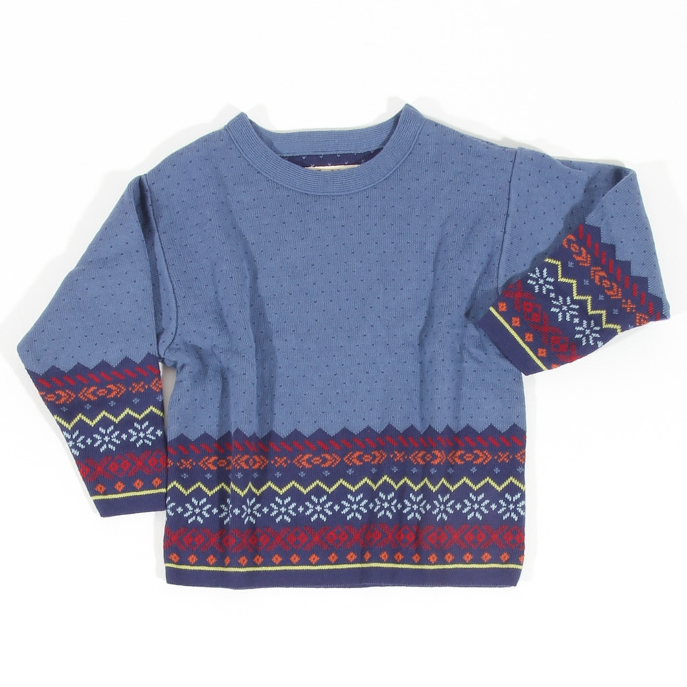 Pullover Sigurd Kinder jeans|bunt