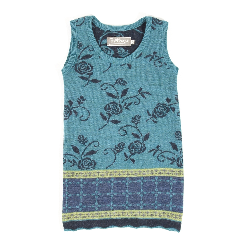 Trägerkleid Hilda Baby türkis nachtblau