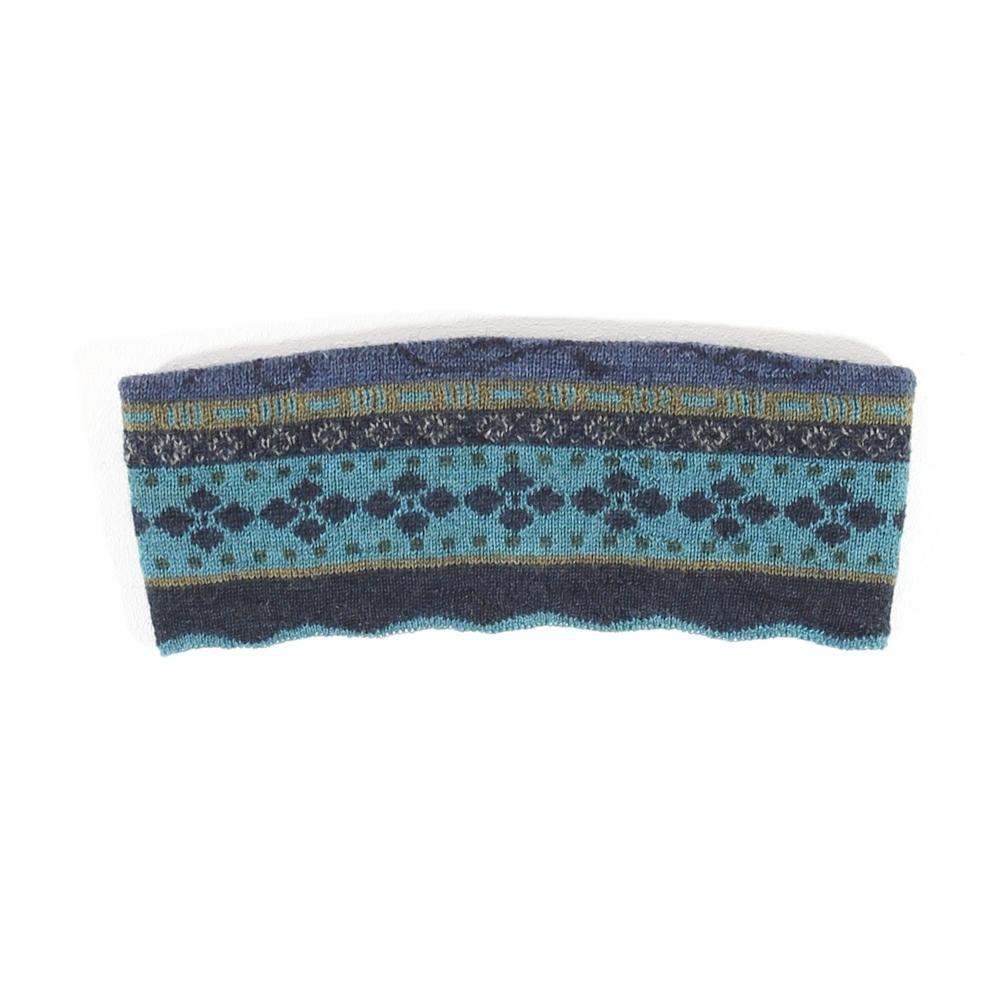 Stirnband Lia nachtblau bunt