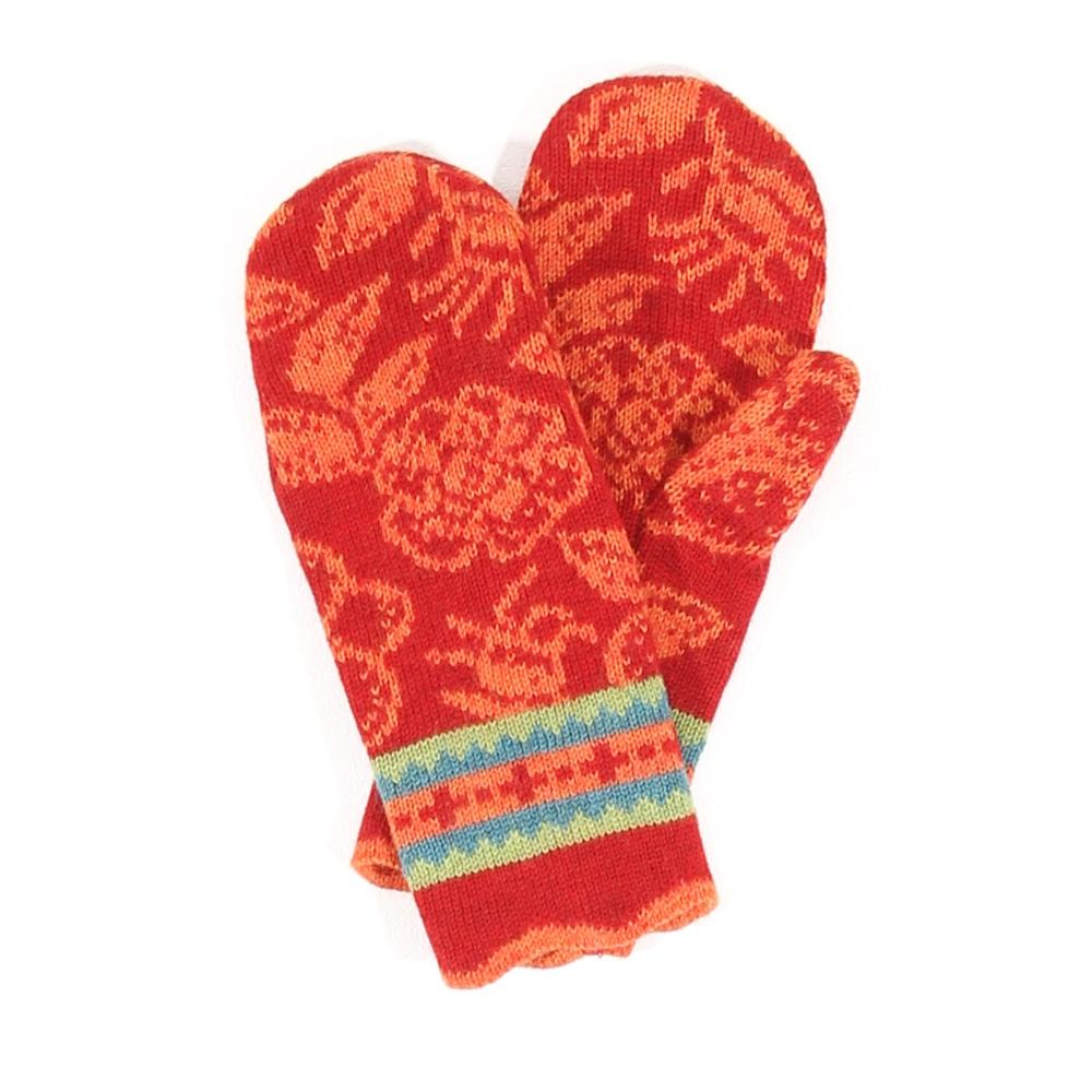 Handschuhe Canina mohnrot|mango