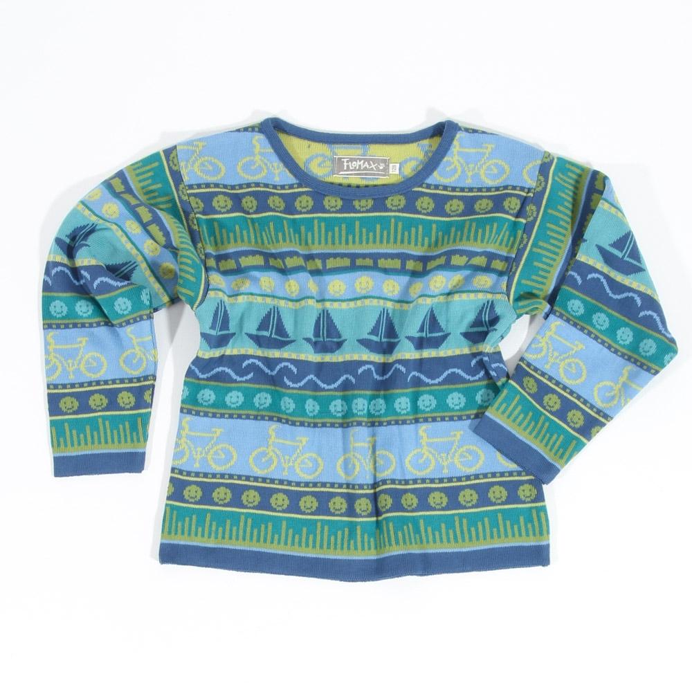 Pullover Ingo Kinder jeans|bunt