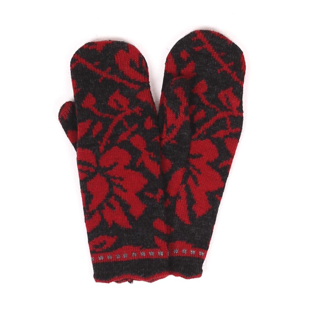 Handschuhe Rosen gewitter|mohnrot
