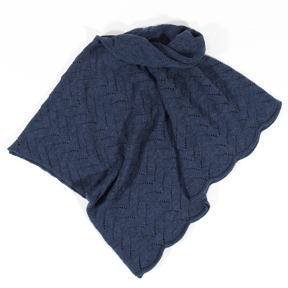 Ajour Poncho Sina | jeans